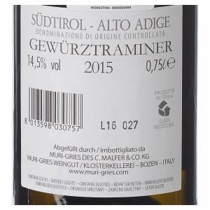 Les vins rouges et blancs: Vin Traminer Aromatico DOC 2015 Abbaye Muri Gries 750ml