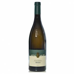 Les vins rouges et blancs: Vin Weiss blanc DOC 2013 Abbaye Muri Gries 750 ml