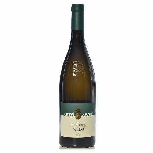 Vin Weiss blanc DOC 2013 Abbaye Muri Gries 750 ml s1