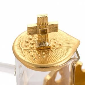 Vinajeras Metal: Vinajeras para celebración en bronce fundido dorado