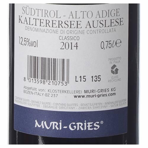 Vino Lago di Caldaro scelto DOC 2014 Abbazia Muri Gries 750 ml s2