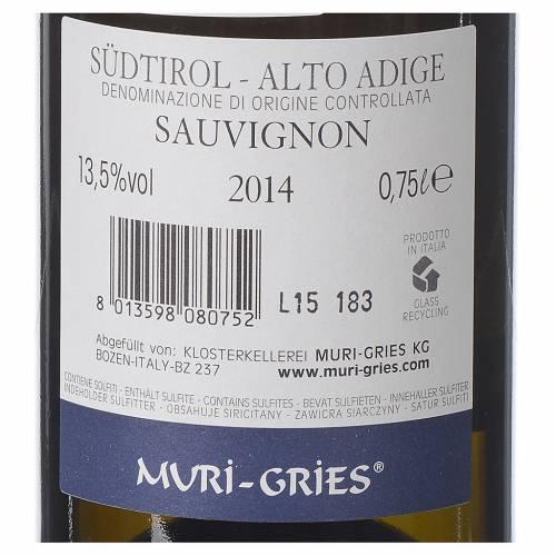 Vino Sauvignon DOC 2014 Abadía Muri Gries 750 ml s2