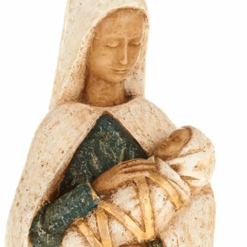Virgin Mary with baby Jesus stone statue, Bethléem monast s2
