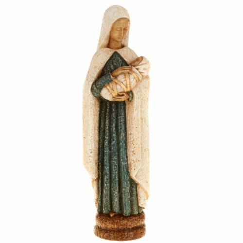 Virgin Mary with baby Jesus stone statue, Bethléem monast s1