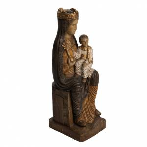 Virgin of Solsona statue in painted Bethléem wood, polychromati s2