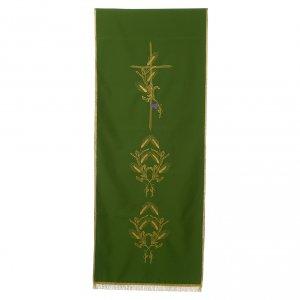 Voile de lutrin croix et épis 100% polyester s2