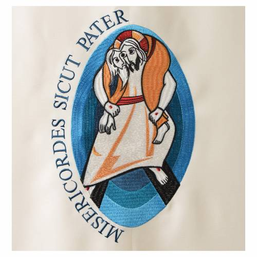 STOCK Voile de lutrin Jubilé de la Miséricorde Pape François s2