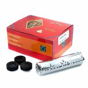 Węgle trybularzowe: Węgiel do kadzenia profesjonalny (7sekund, 40 sekund, 72 minuty)