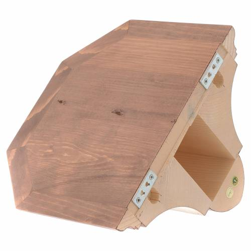Wall bracket for statues in wood from Valgardena s3
