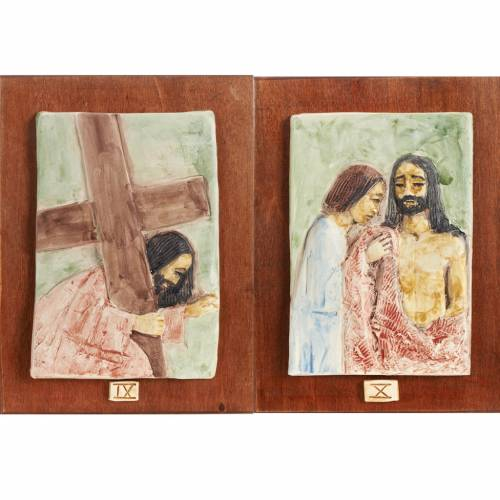 Way of the Cross in majolica, 14 stations s6