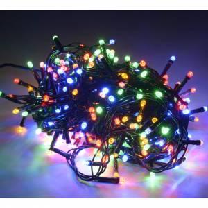 Weihnachtslichter: Weihanchtslichter 300 multicolor Led aussen Gebrauch