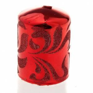 Weihnachtskerzen: Weihnachtskerze Rot