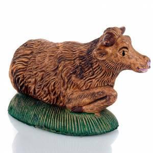 Zwierzęta do szopki: Wół szopka zrób to sam kolory patynowane 13 cm