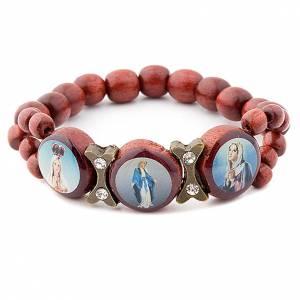 Wood 3-image bracelet s1
