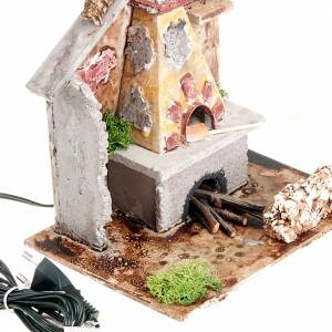Nativity set accessory, electrical stove s2