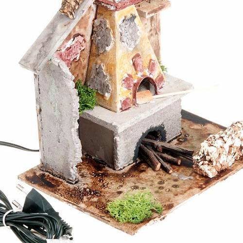 Nativity set accessory, electrical stove 2