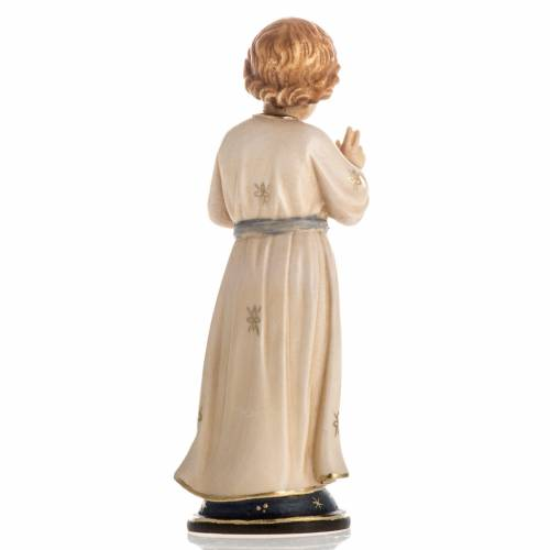 Adolescent Jesus wooden statue painted s4