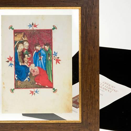 Adoration des rois mages, code miniature s6