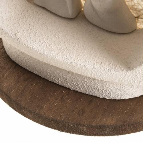 Alberello su base natività écru argilla s6
