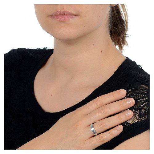 Anello decina argento 800 girevole s2