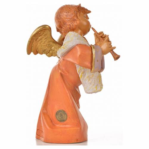 Ange avec flûte 20,5 cm Fontanini s2