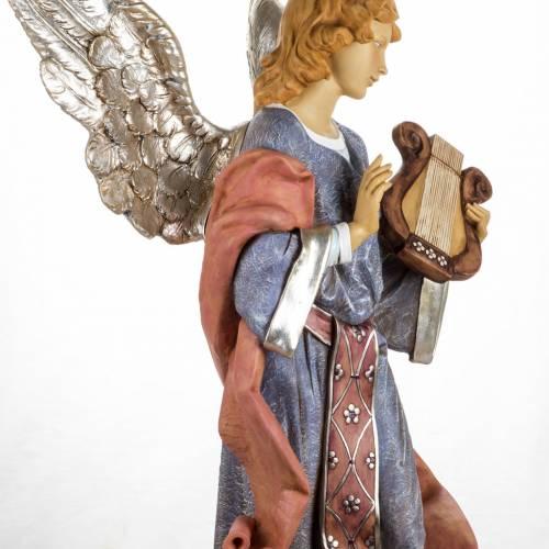 Ange debout crèche Fontanini 125 cm résine s8
