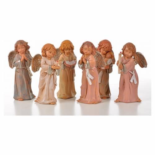 Angeli in piedi 6 pz Fontanini cm 15 s1
