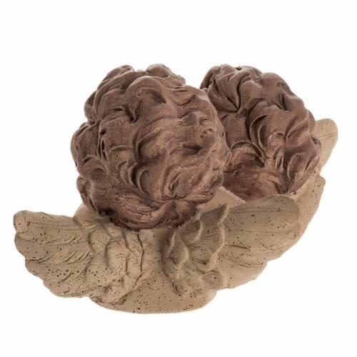 Anges embrassement figurine décorative de noël s3