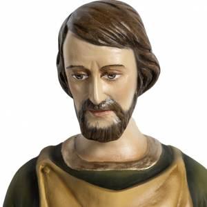 Applique St Joseph menuisier 60 cm fibre de verre s2