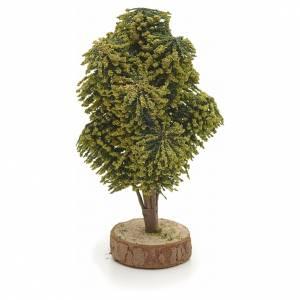 Arbre en miniature avec base 12 cm crèche s2