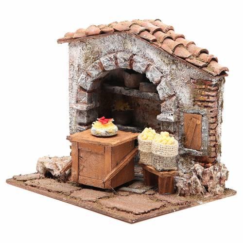 Atelier fabricant de pâtes pour crèche 10 cm s2