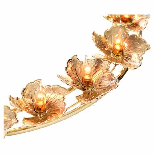Aureola luminosa fiori s7