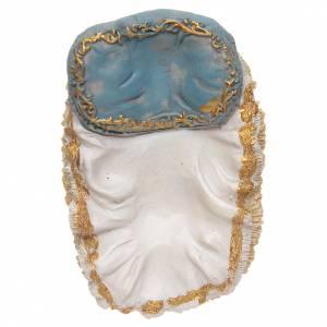 Baby Jesus in cradle, 13x9x8,5 cm s4