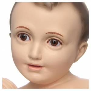 Baby Jesus figurines: Baby Jesus of Bethlehem with crystal eyes, 50cm Landi