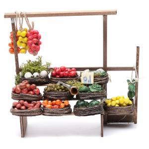 Banc des fruits miniature crèche Napolitaine s1