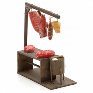 Banc du boucher crèche Napolitaine 10 cm s2