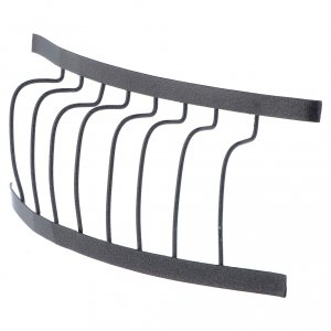 Baranda de hierro balcón 10 x 5 cm belen s2