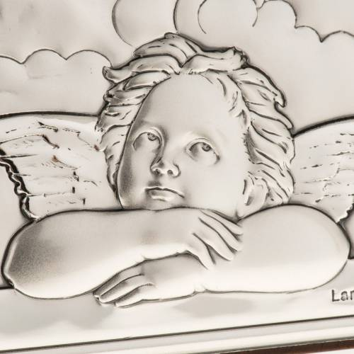 Bas relief argent anges de Raphaël s4