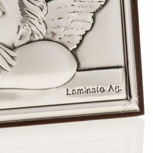 Bas relief argent anges de Raphaël s2