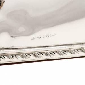 Bas relief argent vierge de Ferruzzi rectangulaire s5