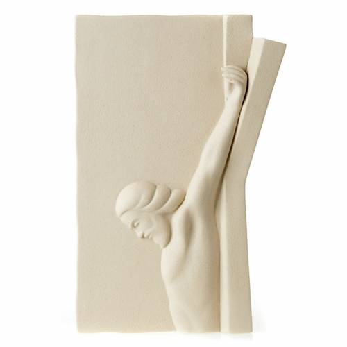 Bas relief Jesus on the cross s4