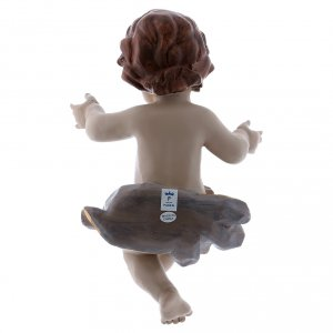 Bebé Jesús de resina h real 21 cm s2