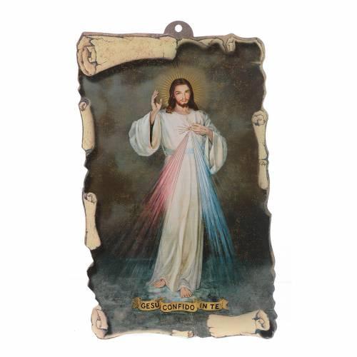 Bendición: Pergamino Jesús Misericordioso (100pz) s1
