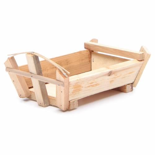 Berceau en bois 9x18x12 cm pour Enfant Jésus s2
