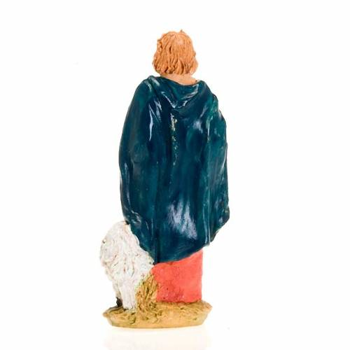 Berger avec mouton debout, 13 cm s2