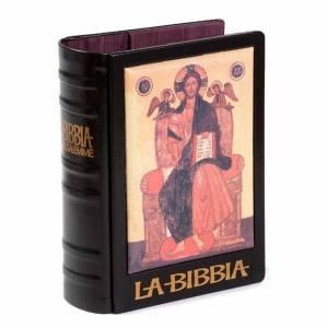 Bibel-Deckel 2008: Bibeleinband mit Jesus auf dem Thron 2008