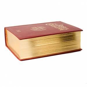 Biblia Jerusalén verdadera piel borde oro Nueva Trad. LENGUA IT s4