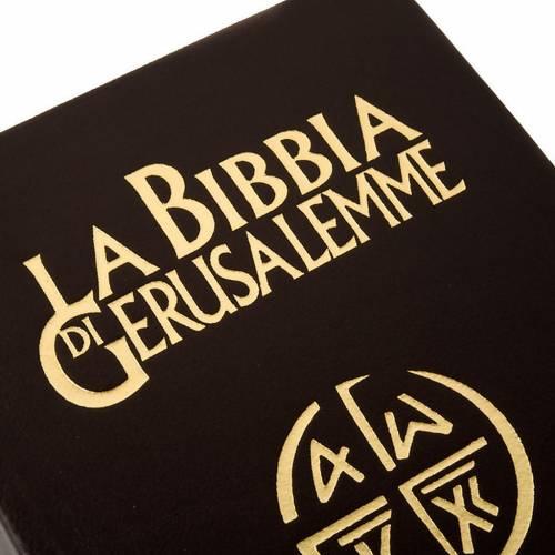 Biblia Jerusalén verdadera piel Nueva Trad. LENGUA ITALIANA s2