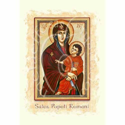 Biglietto per auguri Salus popoli romani s1
