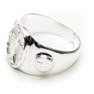 Bishop's ring in 800 silver s2